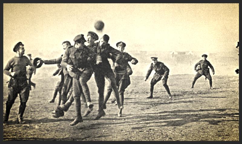 FOOTBALL  IN GUERRA