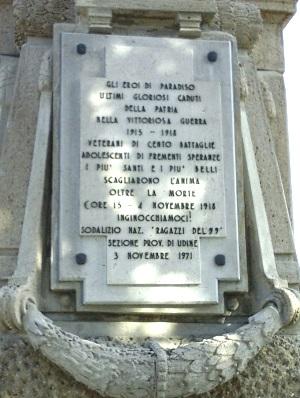 ACHILLE BALSAMO – l'ultimo caduto per la gloria d'Italia