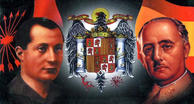 JOSE' ANTONIO PRIMO DE RIVERA E LA FALANGE SPAGNOLA