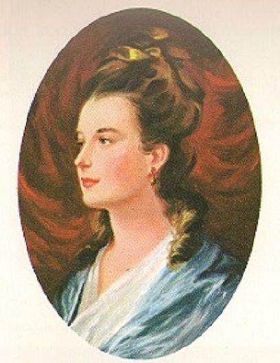Portrait of Martha Wayles Skelton who was the wife of Thomas Jefferson