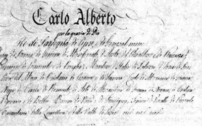 LO STATUTO ALBERTINO 1848