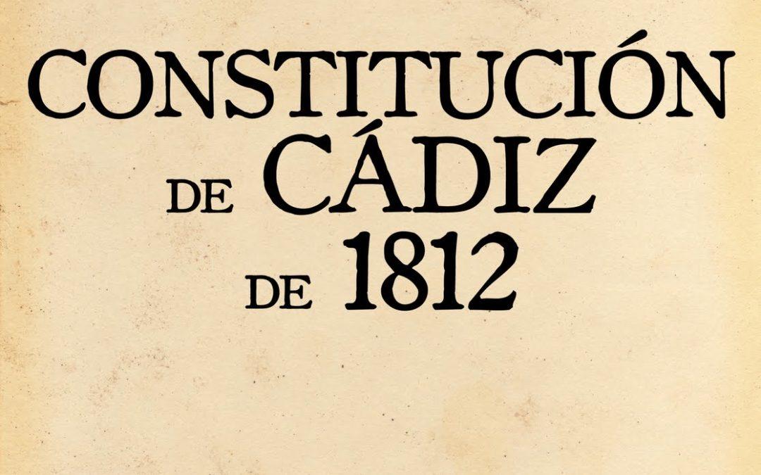 LA COSTITUZIONE DI CADICE  1812