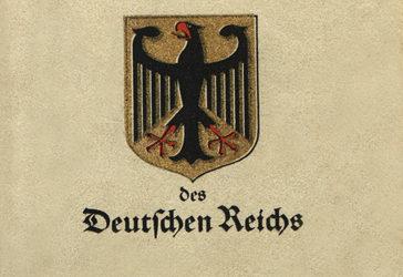 COSTITUZIONE DI WEIMAR.  1919