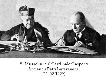 CONCORDATO 1929 – PATTI LATERANENSI