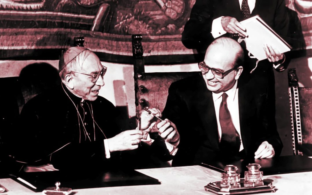 ACCORDO TRA LA SANTA SEDE E LA REPUBBLICA ITALIANA 1985