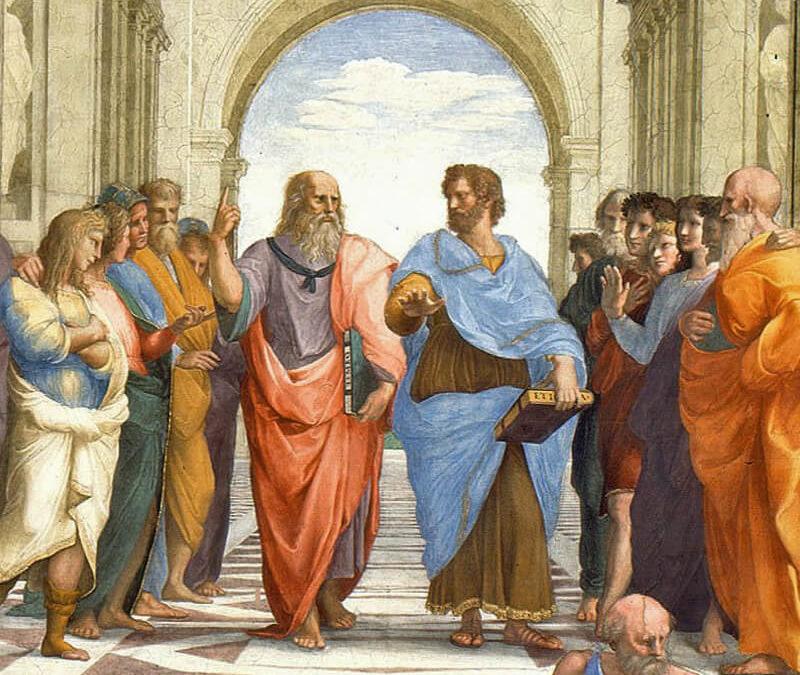 ACCADEMIA PLATONICA E LICEO ARISTOTELICO A CONFRONTO
