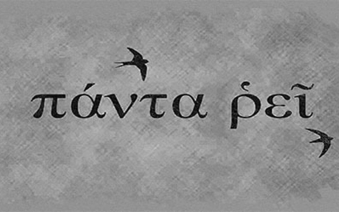"ERACLITO : ""PANTA RHEI"""