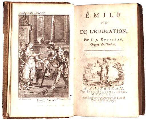 ROUSSEAU E L'EDUCAZIONE NATURALE
